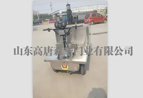 不锈钢送饭车4