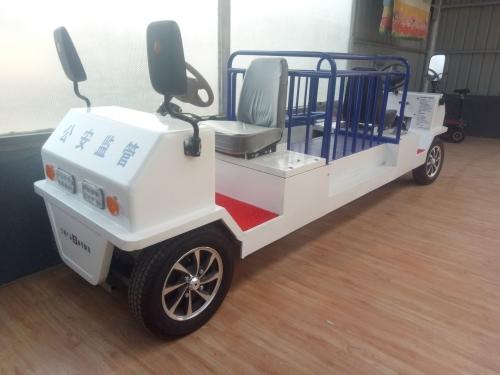新型单人锂电提审车
