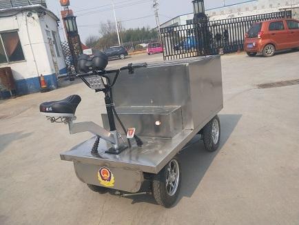 不锈钢送饭车0