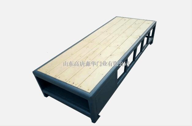 看守所床具的结构及安装
